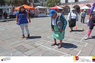Distrito De Salud Promueve Habitos De Vida Saludable Mediante Juegos